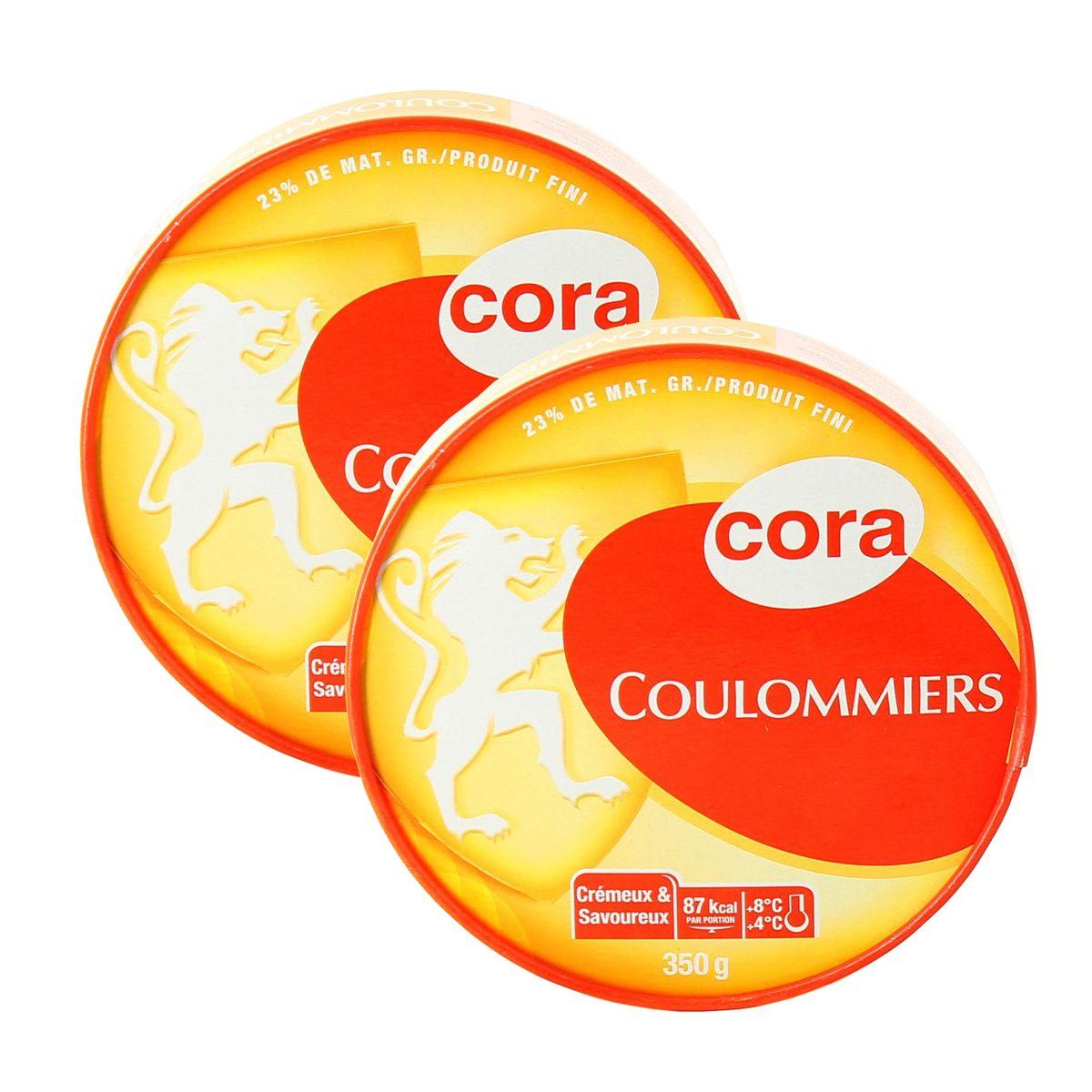 livraison a domicile promotion cora coulommiers 2x350g
