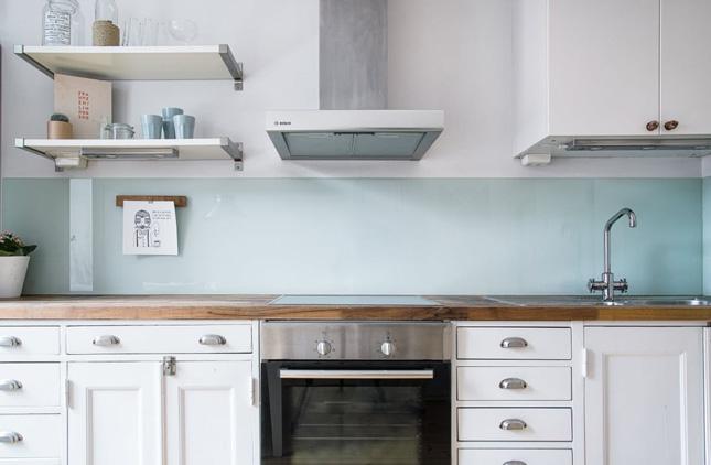 kitchen back splashes oak cart not your basic backsplash 9 beautiful non tile backsplashes interiors