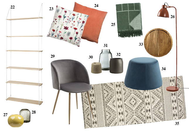 living room blanket holder blue and brown rooms ideas the new spring sostrene grene collection looks way more ...