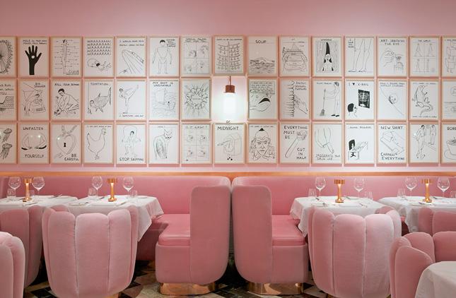 India Mahdavi's Colourful Interior Design At Sketch London Is