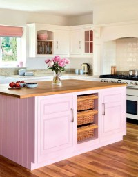 Pretty in pink: 17 pink kitchens that will make you want ...