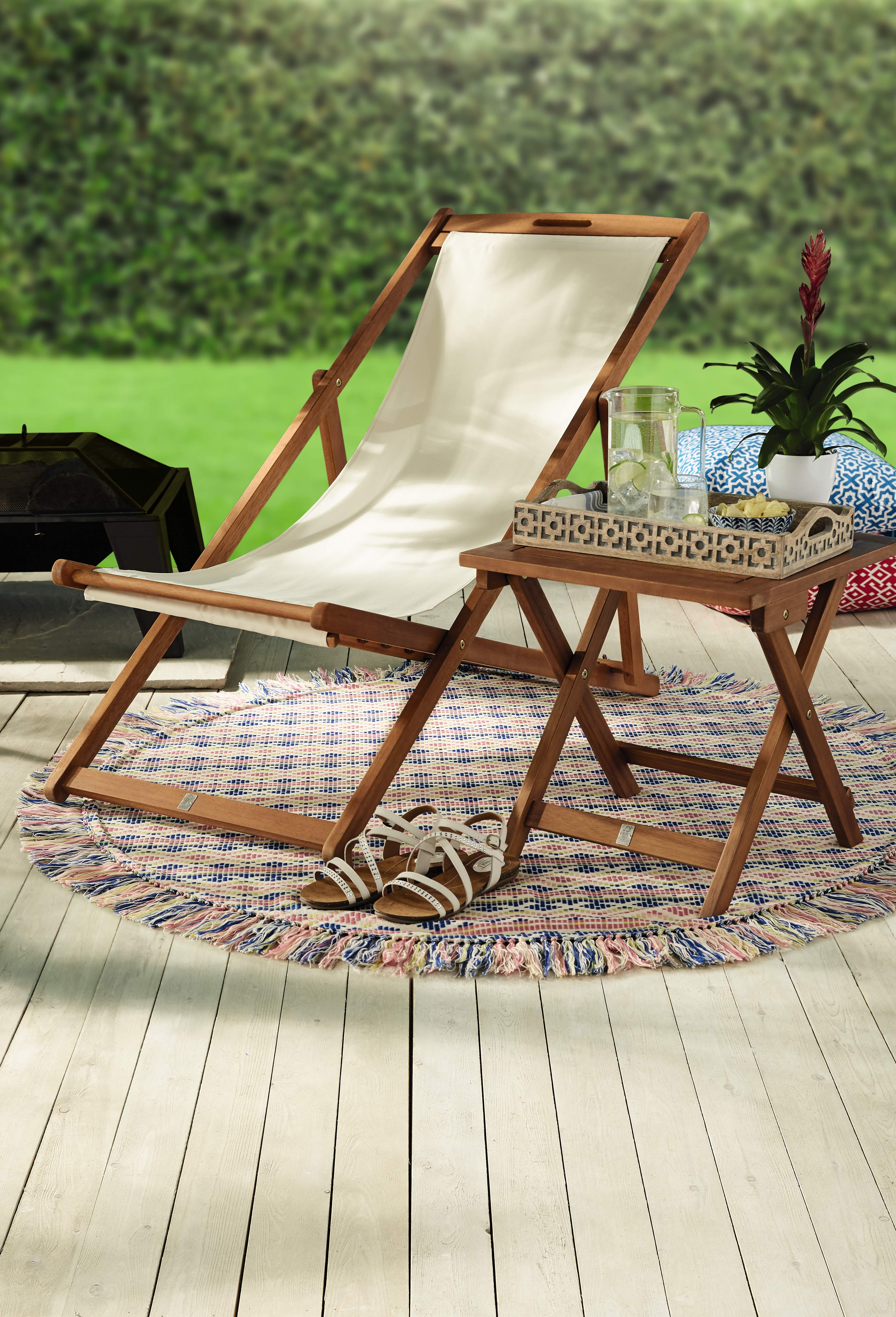 hanging chair aldi diy wingback slipcover update your outdoor space with 39s upcoming special