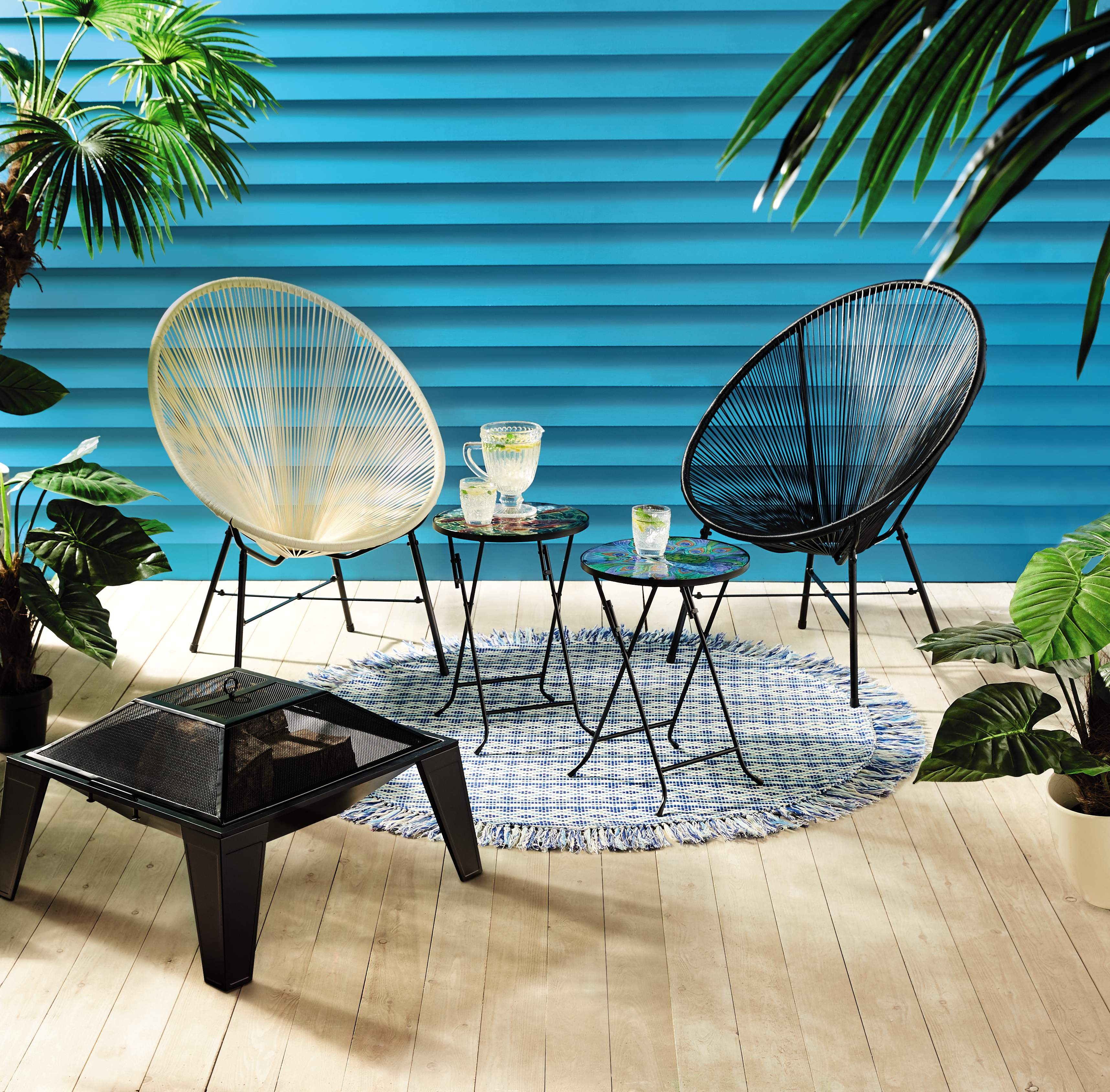 hanging chair aldi big round sofa update your outdoor space with s upcoming special buys a few small updates can make world of difference to and might just tick that box