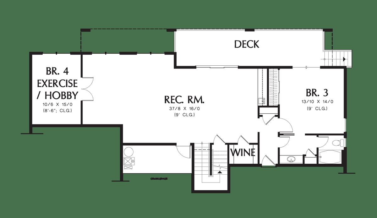 Traditional House Plan 1144EA The Tumalo: 3171 Sqft, 4