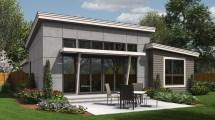 Contemporary House Plan 1164es Park Place 1613 Sqft