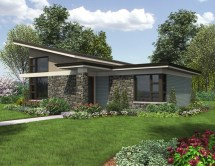 Modern House Plans Single Story Home