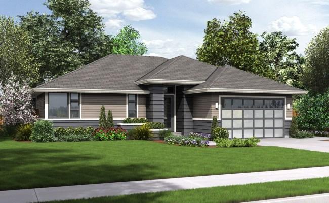 House Plan 1169es The Modern Ranch