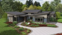 Modern House Plans for Ranch Style Homes