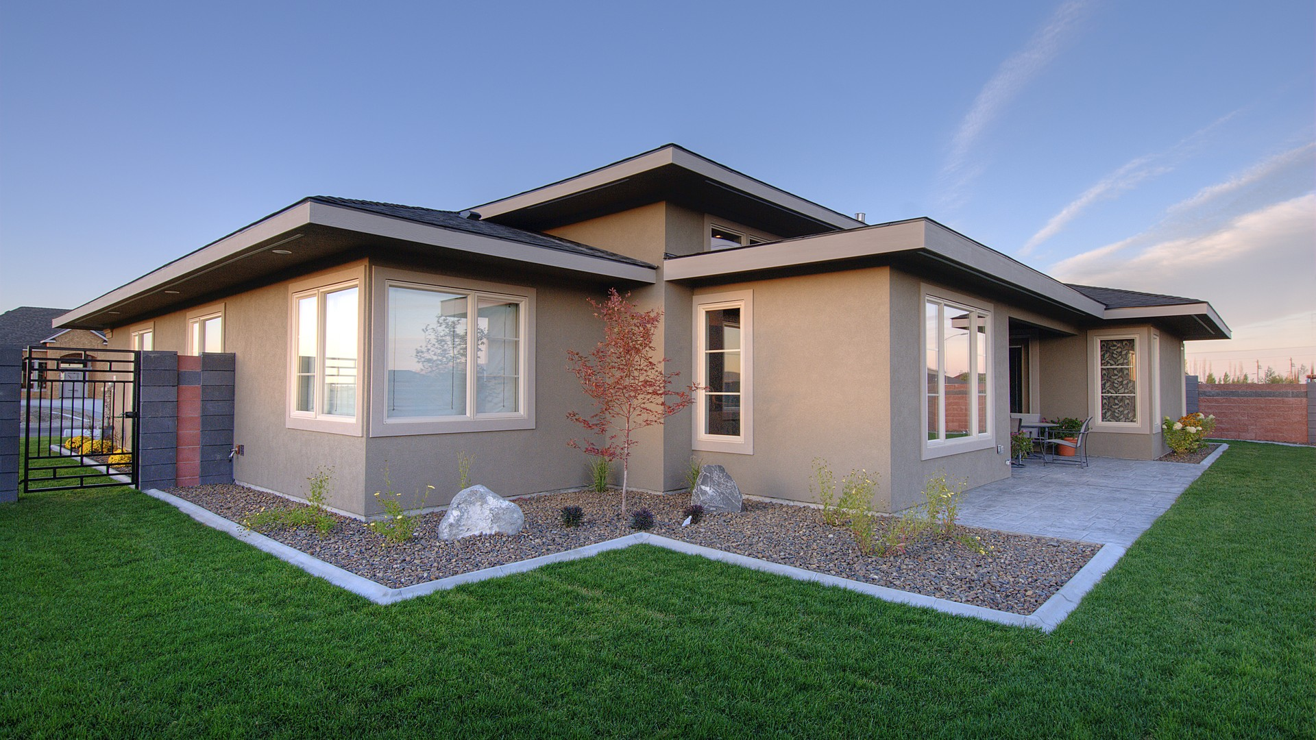 Contemporary House Plan 1245 The Riverside: 2334 Sqft, 4