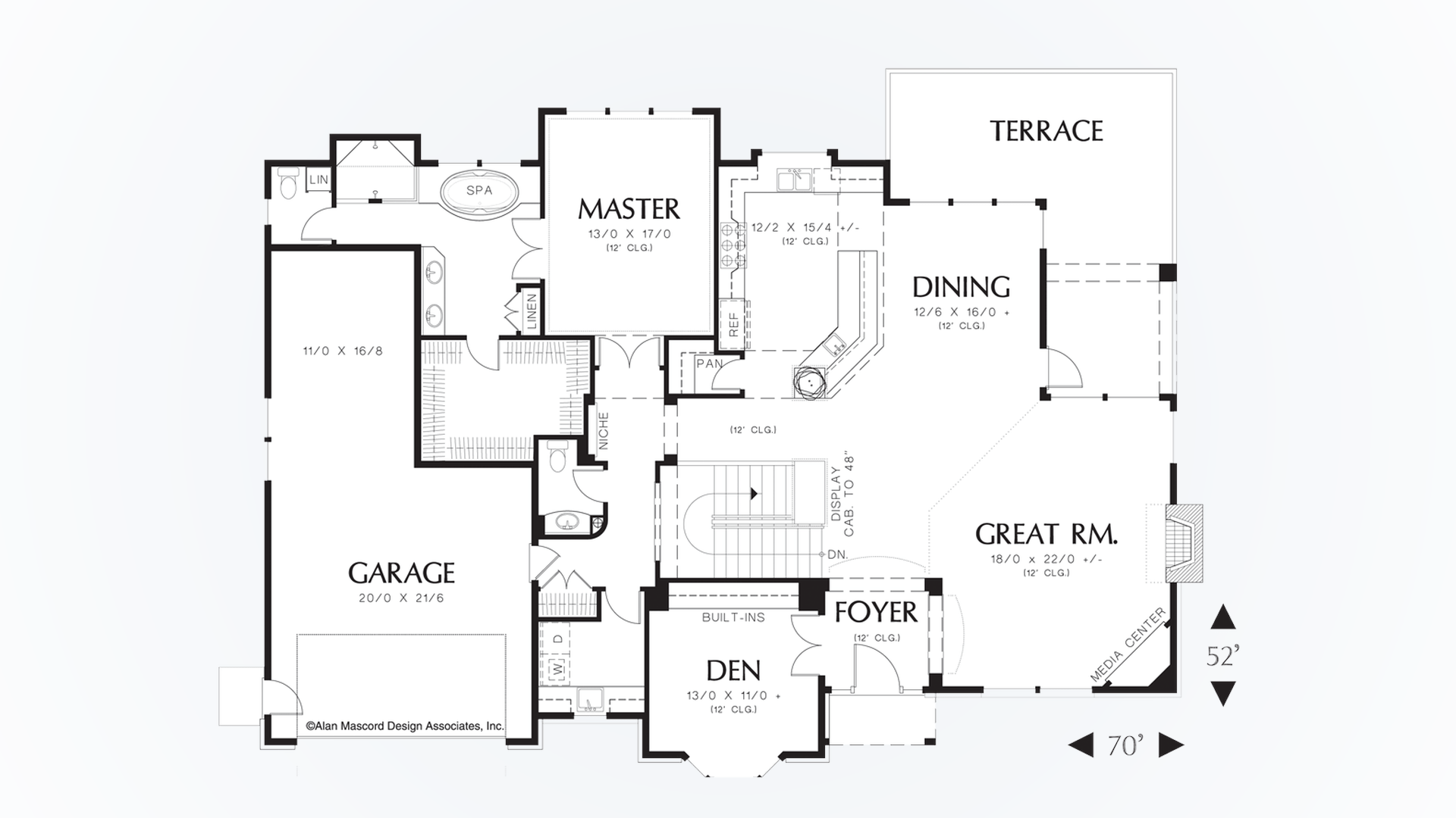 Traditional House Plan 1319A The Jennings: 3955 Sqft, 4