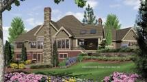 Craftsman House Plan 1411 Tasseler 4732 Sqft 4 Beds
