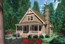 Vacation Cabin House Plan