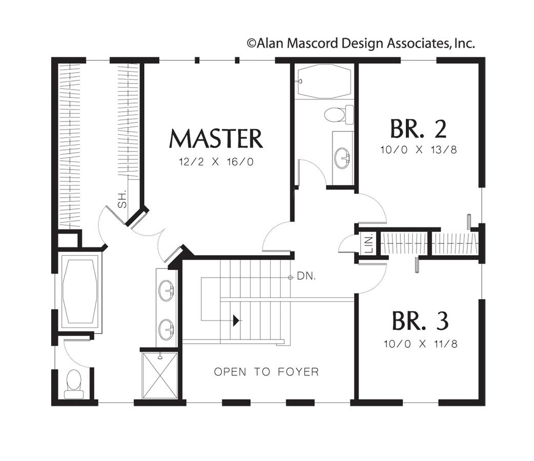 Craftsman House Plan 2166 The Wallace: 1980 Sqft, 3 Beds