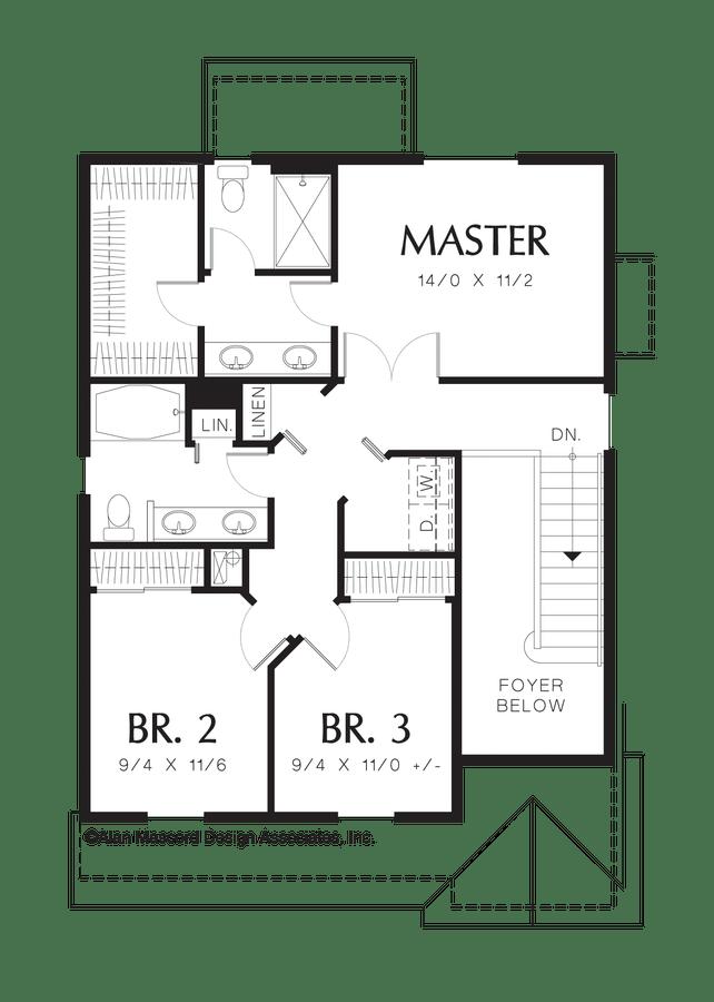 Cottage House Plan 2174B The Monroe: 1466 Sqft, 3 Beds, 2