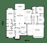 Cottage House Plan 22157 The Alton: 2591 Sqft, 3 Beds, 2.1 ...