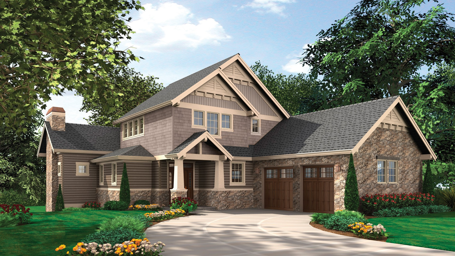 Craftsman House Plan 2387 The Iverson 3926 Sqft 7 Beds