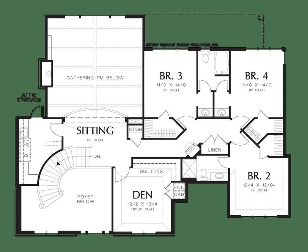 House Plan 2428 -The Marigold