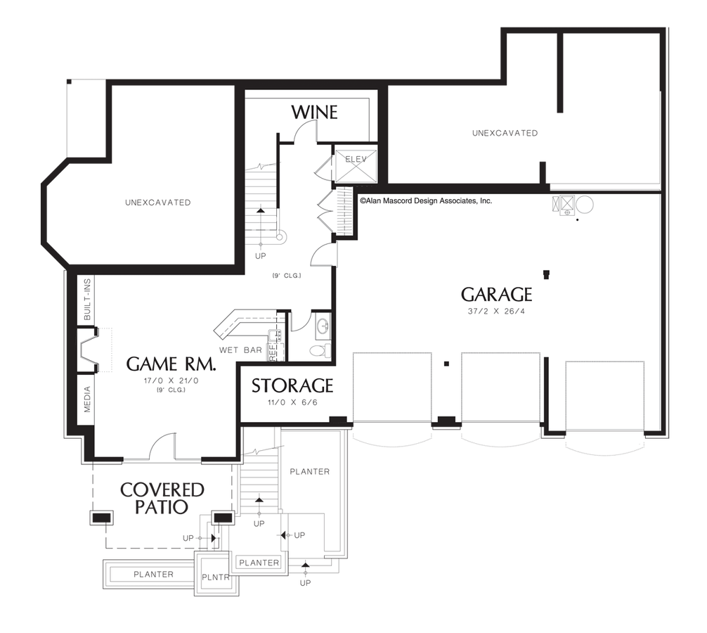 French Country House Plan 2438 The Goldstein: 4762 Sqft, 4 Beds, 3.2 Baths