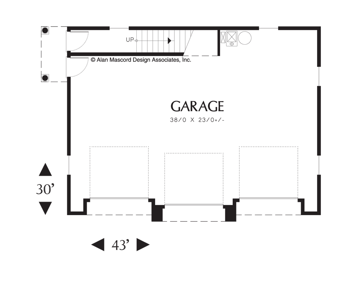 Carriage House House Plan B The Eastman 885 Sqft 2