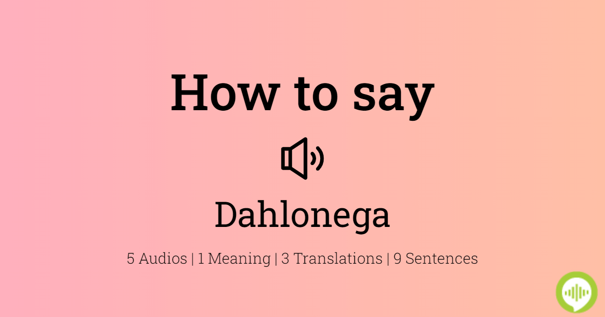 How to pronounce Dahlonega   HowToPronounce.com
