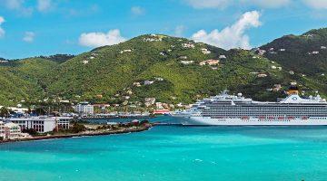 Road Harbour Panorama in the British Virgin Islands