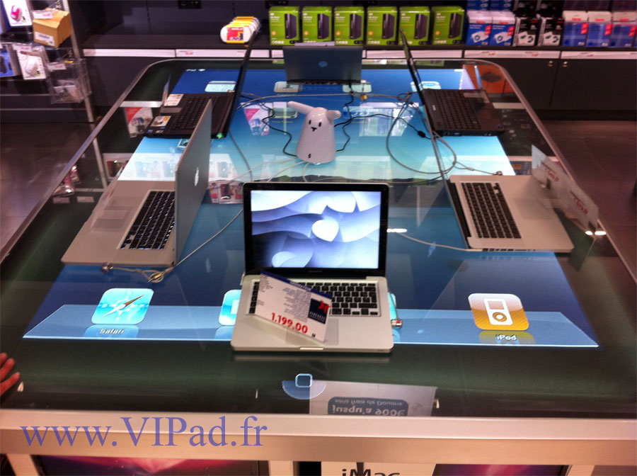 The Largest iPad Table in the World