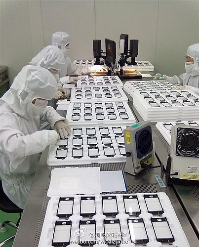 iphone 5 production