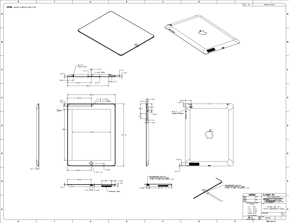 medium resolution of apple posts schematics for the new ipad and ipad mini posts schematics for the new ipad and ipad mini ipad mini schematic