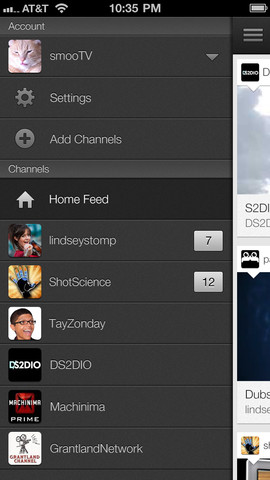 YouTube 1.1.0.4136 para iOS (iPhone screenshot 002)