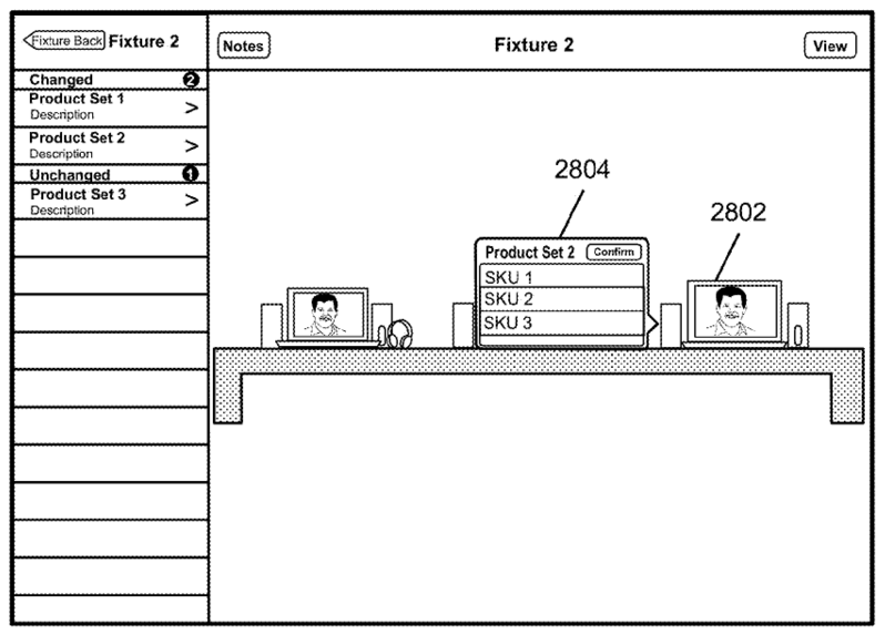 Patent gives a peek into Apple's retail prowess