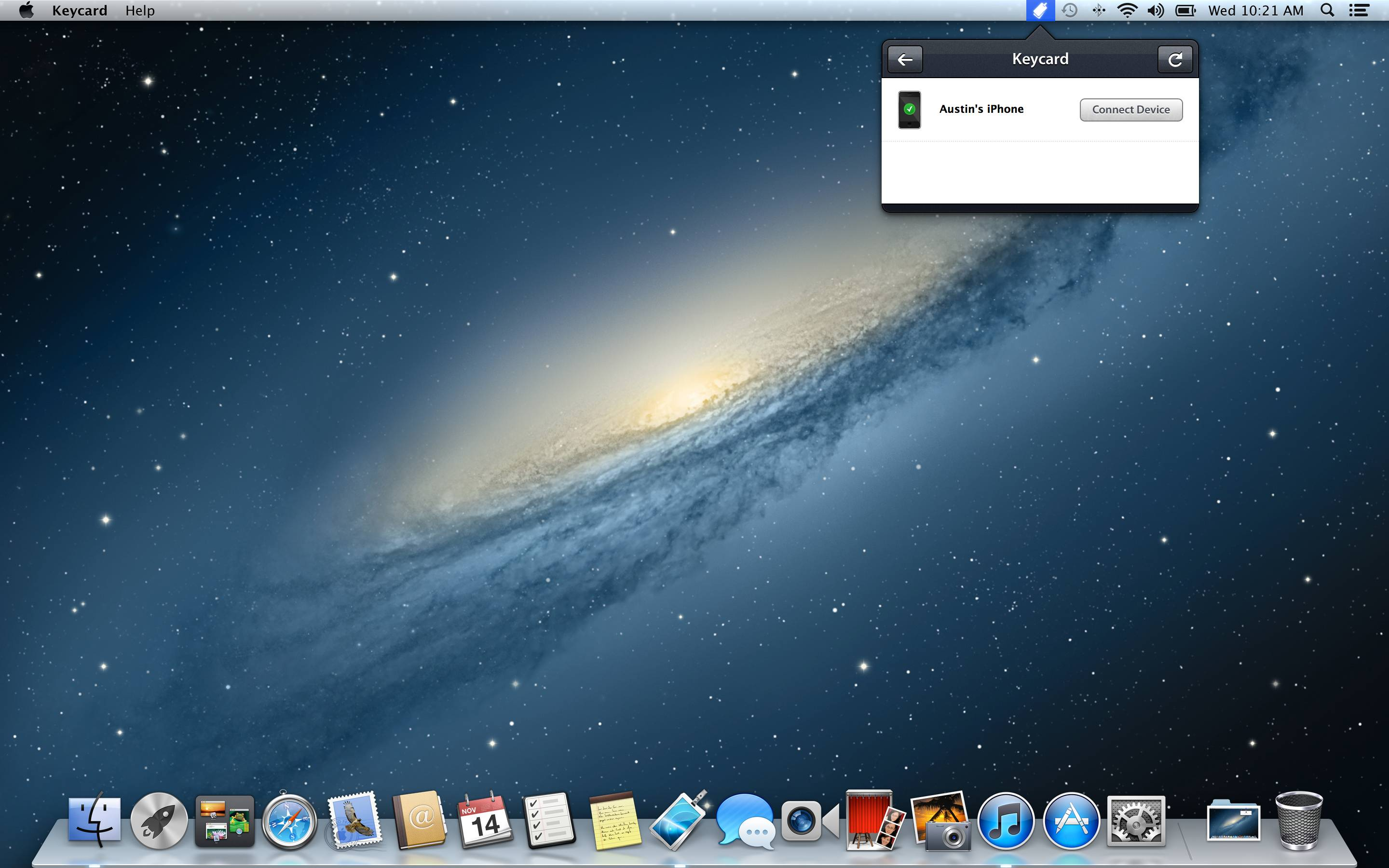 Quick review Keycard unlocks your Mac when youre nearby