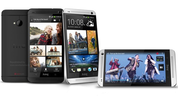HTC One (four-up)