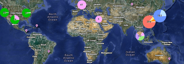 apple supplier map