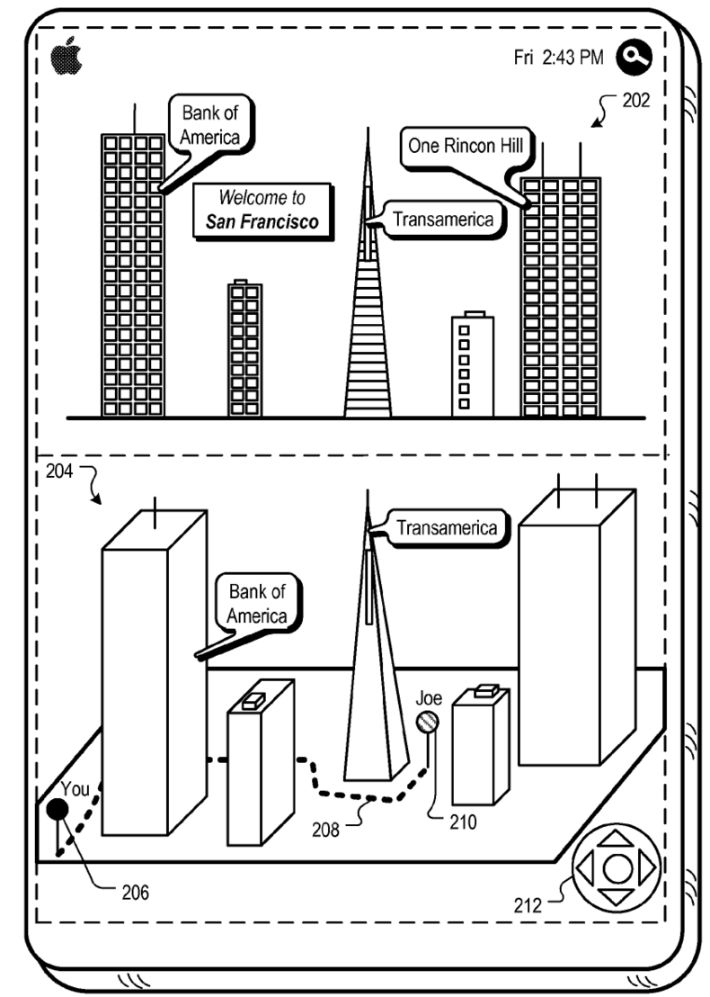 Apple patents augmented-reality mapping tech