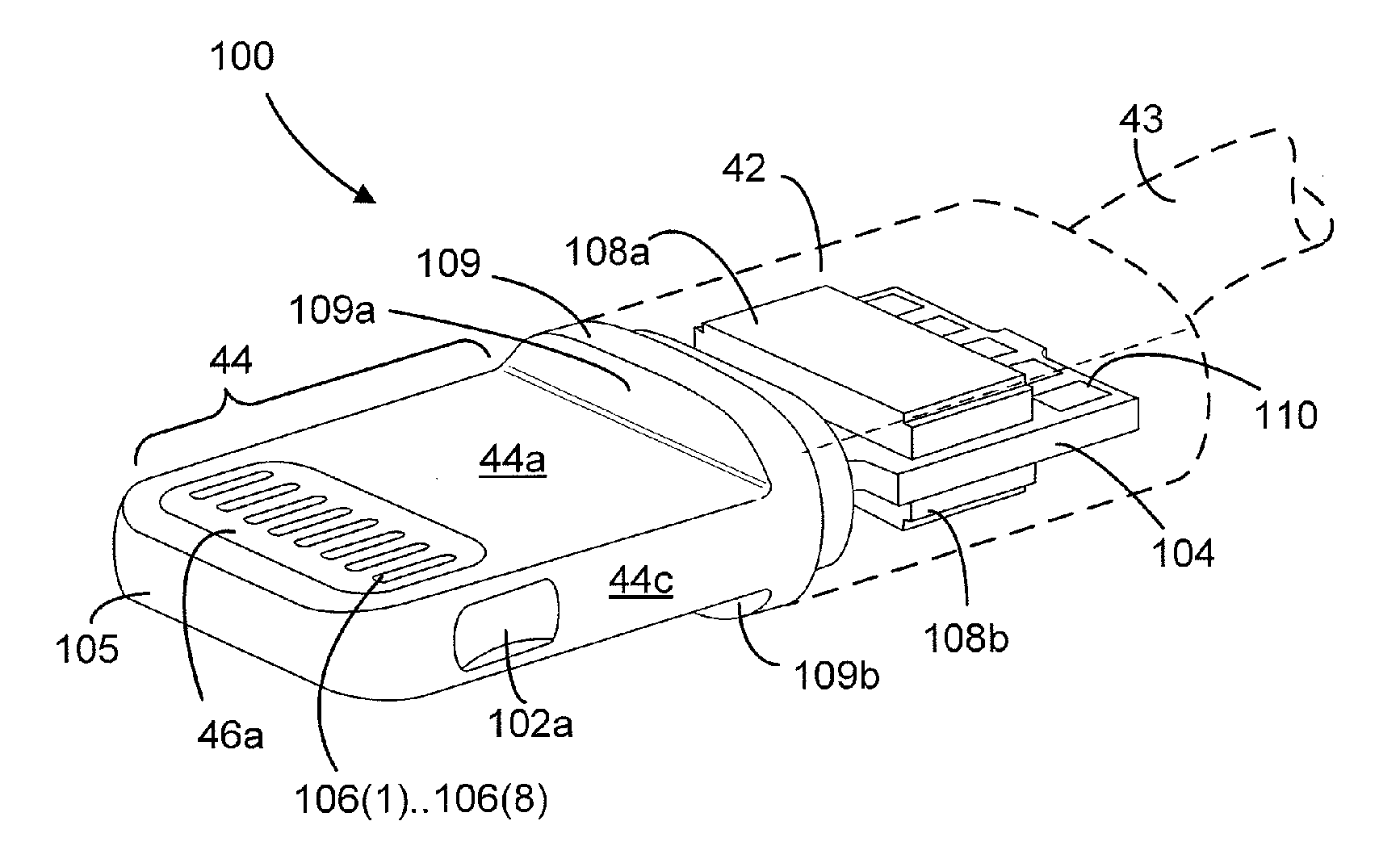 USPTO publishes Apple's extensive Lightning connector patent