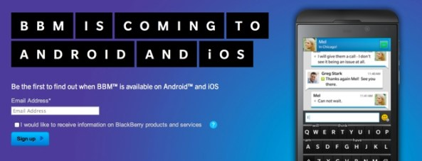 BlackBerry Messenger coming to iOS (teaser 002)
