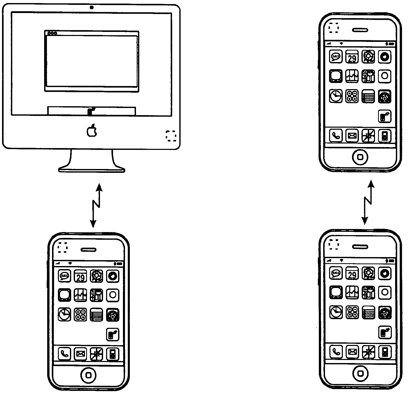Apple Patents S Beam Like Device Transfers