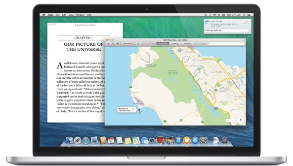 OS X Mavericks (Features, MacBook)