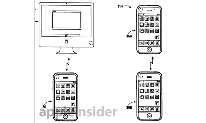 Apple patents S Beam-like device transfers