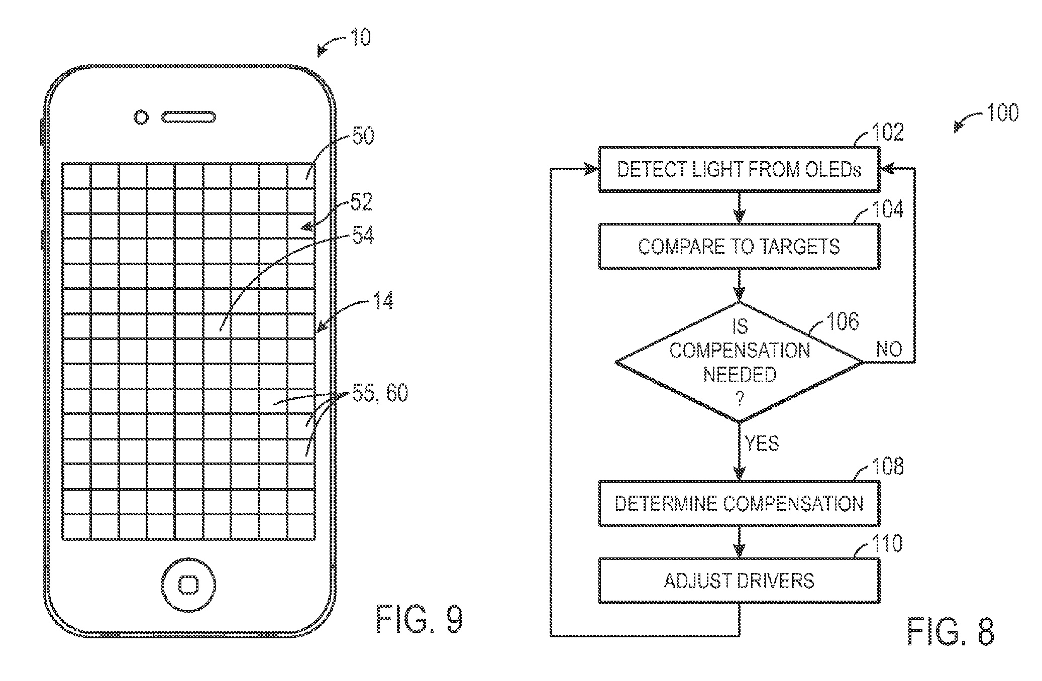Apple patents OLED embedded sensors to improve iPhone display