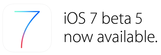 Apple seeds iOS 7 beta 5 to developers: this is what's new