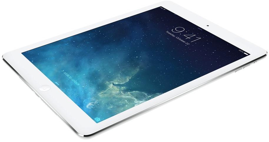 iPad Air Home screen