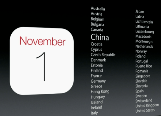 iPad Air od 1 listopada w Polsce