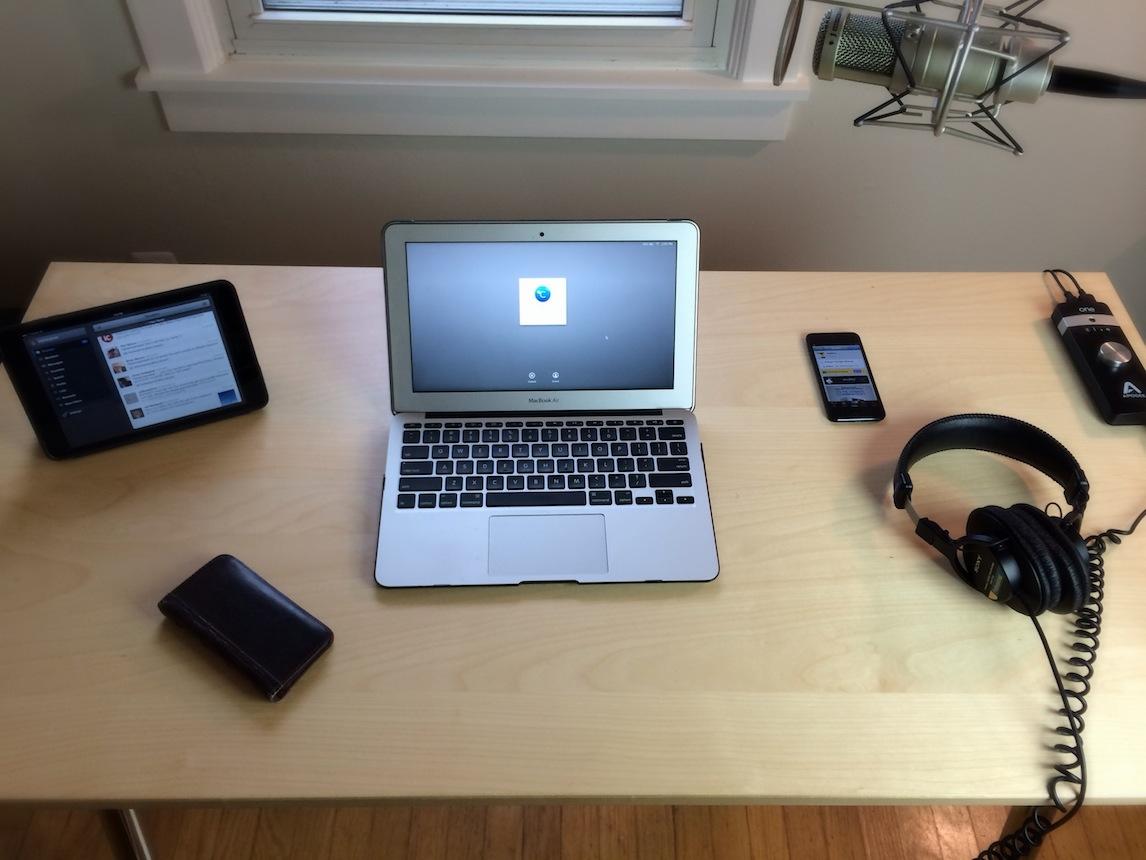 Show Us Your Setup Jeff Benjamins work space