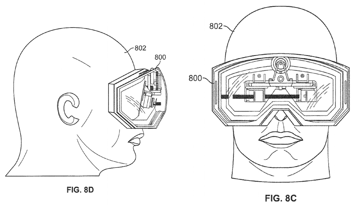 Apple awarded new patent for head-mounted display system