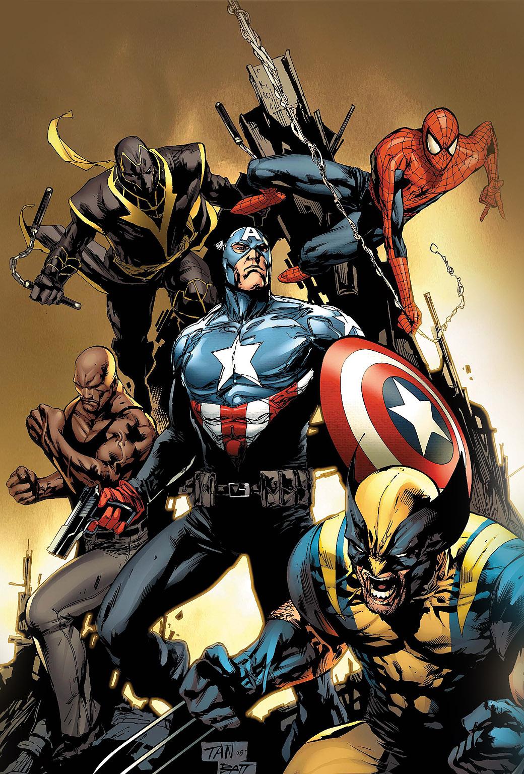 Marvel heroes background iphone
