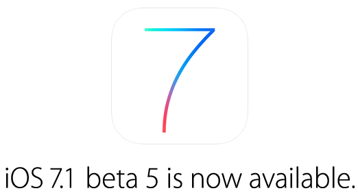 Apple seeds iOS 7.1 beta 5 to developers: here is what's new