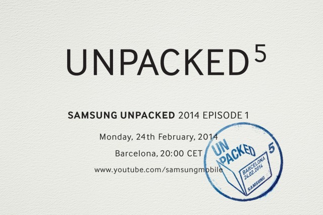 Samsung sends out invitations for likely Galaxy S5 event