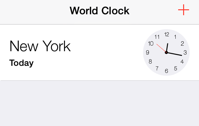 How to enable swipe-to-delete in the stock Clock app
