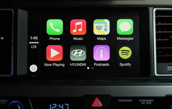 Hyundai CarPlay (2015 Sonata)